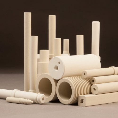 Resistor tubes, ceramic rods, tubes, cores and prototypes